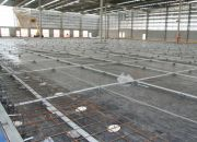 Expansion Joint free post-tensioned slabs on grade